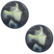 Cabochon Polaris Perseo 12mm matt Antracite blue