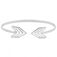 Metalen armband Arrow Zilver