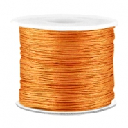 Draad macramé 0.7mm Light copper brown