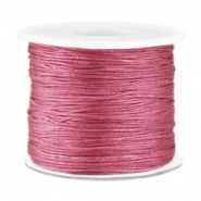 Draad macramé 0.7mm Light aubergine red