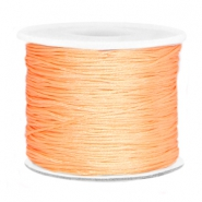 Draad macramé 0.7mm Peach orange