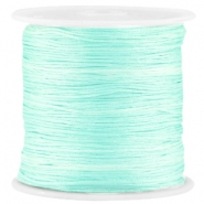 Satijn Macramé draad 0.8mm Light crysolite green