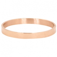 Armband van stainless steel large Rosegold