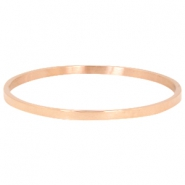 Armband van stainless steel Rosegold