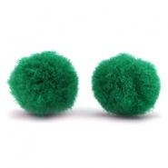 Bedel pompom 15mm Classic green