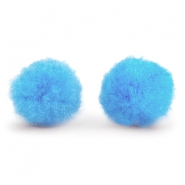 Bedel pompom 8mm Light blue