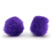 Bedel pompom 15mm Purple