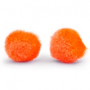 Bedel pompom 8mm Spicy orange