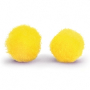 Bedel pompom 10mm Yellow
