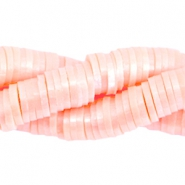 Kralen katsuki pearl coated 4mm Light rose peach