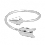 Trendy ringen arrow Zilver
