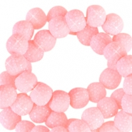 Sparkle beads 6mm Pink sorbet