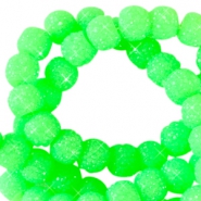 Sparkle beads 8mm Neon groen