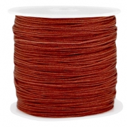 Draad macramé 0.8mm Pomegranate brown
