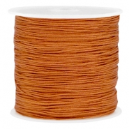 Draad macramé 0.8mm Copper brown