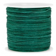 Draad macramé 0.8mm Dark emerald green