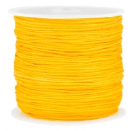 Draad macramé 0.8mm Sunflower yellow