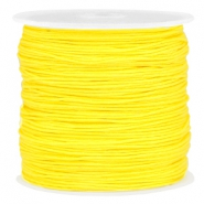 Draad macramé 0.8mm Bright yellow