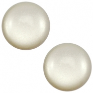 12 mm classic Super Polaris cabochon Light silver shade