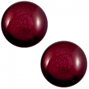 12 mm classic Super Polaris cabochon Royale aubergine