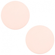 7 mm platte Polaris Elements cabochon matt Powder pink