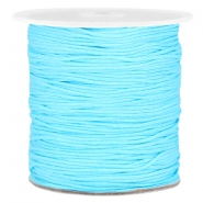 1.0mm Macramé draad Light blue