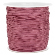 1.0mm Macramé draad Light aubergine red