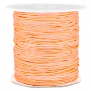 1.0mm Macramé draad Peach orange