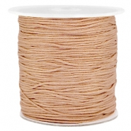 1.0mm Macramé draad Light brown