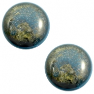 20 mm classic Polaris Elements Stardust cabochon Blue shade