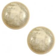 12 mm classic Polaris Elements Stardust cabochon Sand beige