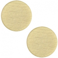 Cabochon polaris soft tone plat 12mm matt Khaki green