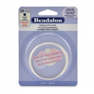 Rijgdraad Beadalon German style wire Beadalon