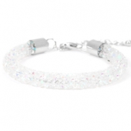 Armband 8mm crystal diamond Crystal aurore boreale