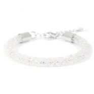 Armband 7mm crystal diamond Crystal aurore boreale