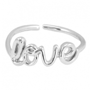 Trendy ringen Love Zilver