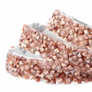 Tape van Crystal Diamond 10mm Rosegold
