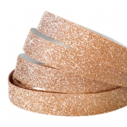 Tape van Crystal Glitter 10mm Rosegold
