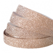 Tape van Crystal Glitter 10mm Light rosegold
