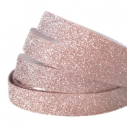 Tape van Crystal Glitter 10mm Vintage rose