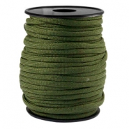 Trendy koord rond Paracord 4mm Army green