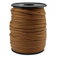 Trendy koord rond Paracord 4mm Bruin