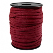 Trendy koord rond Paracord 4mm Aubergine red