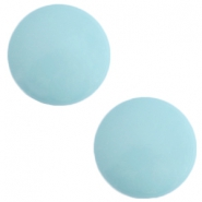 12 mm classic Polaris Elements Galastil cabochon Soft lagoon blue