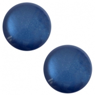 12 mm classic Polaris Elements soft tone shiny cabochon Radiant blue