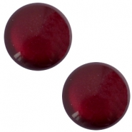 20 mm classic Polaris Elements soft tone shiny cabochon Royale aubergine