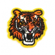 Fashion Patches tijger Oranje-geel