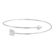 Armband arrow Zilver