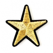 Fashion Patches ster Goud