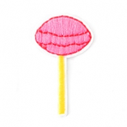 Fashion Patches lolly Roze-geel